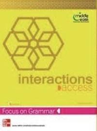 Interaction -focus on grammar-